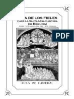 Misalito Misa de Requiem (Funeral Novenario)