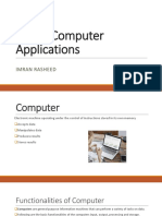 IT and Computer Applications (Lecture 1)