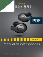 Jabra Elite 65t User Manual_ES_Spanish_RevE