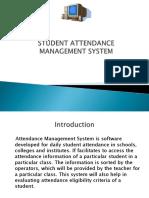 Student Attendance Management System