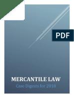 Mercantile Law_CaseDigests_2018.pdf