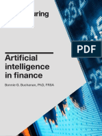 Artificial Intelligence in Finance - Turing Report 0