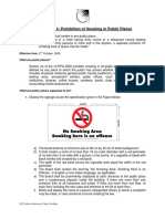 Sec 4 Prohibition of Smoking in Public Places