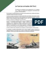 Día de Las Fuerzas Armadas Del Perú