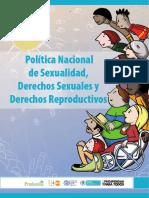 Libro Politica Sexual y Reproductiva