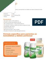 Nutricion (adulta e infantil) - Dietas estandar por patologia - Enfermedad renal crónica (ERC) dialisis - NEPRO HP.pdf