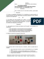 Examen de Electrónica General