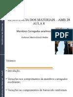 Resistência Dos Materiais Amb 28 Aula 8 - PDF