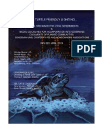 Sea Turtle Friendly Lighting a Model Ordinance for Local Governments - Revised April 2014