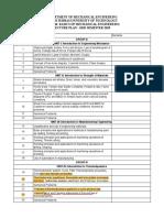 FCME006 Lecture Plan