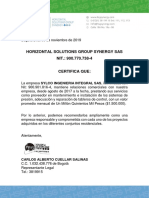 certificacion sylco