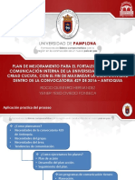 Diapositivas Comunicacion Interna CREAD TRABAJO de GRADO