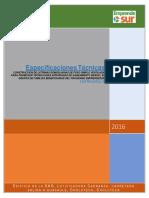 Especificaciones Tcnicas 80 Letrinas de Foso Simple Santa Isabel 25-11-16