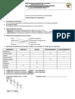 Cuestionario básico de aporte en 1bgu programacion