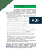 Política de Tratamiento de Protección y Uso de Datos Personales Adeca Sas