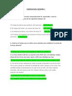 Trabajo de Quimica Inorganica Ejercicios de La Semana 1 y 2