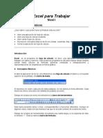 Manual de Excel para  Niños