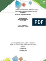 Sistemas de Tratamiento y Disposicion Final de Residuos Solidos