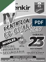 Bases Pentatlon