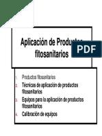 Aplicación Productos Fitosanitarios Viña
