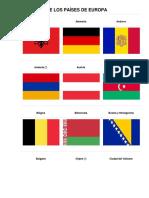 Bandera de Los Países De