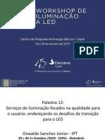 Palestra 12 - Oswaldo Sanchez