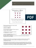 El Juego de Los 9 Puntos ¿Problema o Reto_ - Servicios de Coaching Barcelona Para Empresas y Particulares