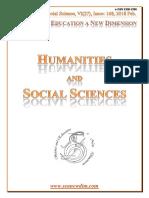 Seanewdim Hum Soc VI 27 Issue 168