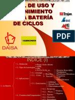 Uso Mantenimiento Bateria de Ciclos