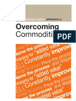 Strategic Coach Approach to Overcoming Commoditization