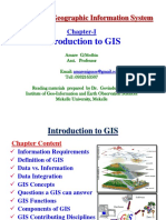 Chapter 1-Introduction to GIS