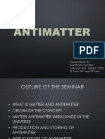 Antimatter Powerpoint Presentation