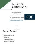 Lecture 02 AI