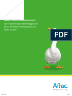 Aflac Cancer Care Brochure