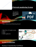 Mobile Based Network Monitoring System