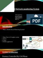 Mobile Based Network Monitoring System