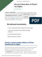 El Primer Condicional en Inglés (Guía Estudio 2019).pdf