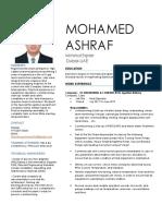 Mohamed - CV