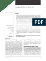 Periodontite e Alzheimmer