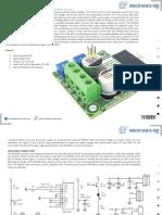 1.2V 25V10A Adjustable Power Supply Using Power Op Amp