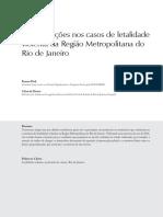 Artigo_As Motivacoes Nos Casos de Letalidade Violenta Da Regiao Metropolitana Do Rio de Janeiro