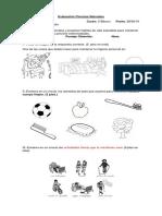 2 Evaluación Ciencias Naturales 2 Basico 28 de Junio (1)