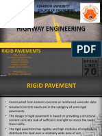 Rigid Pavement in Magallanes Interchange