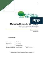 manual cobranza terreno