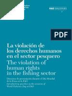 La Violación de Los Derechos Humanos en El Sector Pesquero. Fao a-i6861b
