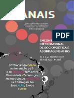 Anais Encontro Internacional de Sociopoetica e Abordagens Afins