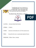 Laboratorio 9 - Maquinas Electricas I