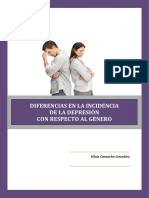 Incidencia Depresion Segun Genero