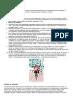 Atletismo Disciplinas Texto Imagenes