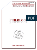 Seanewdim Philology VI 52 Issue 182